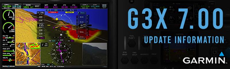 Garmin G3X 7.00 Update