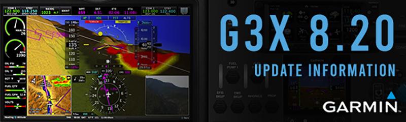 Garmin G3X 8.20 Update
