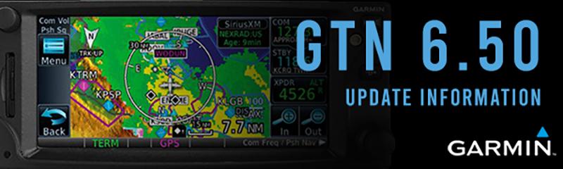 Garmin GTN 6.50 Update