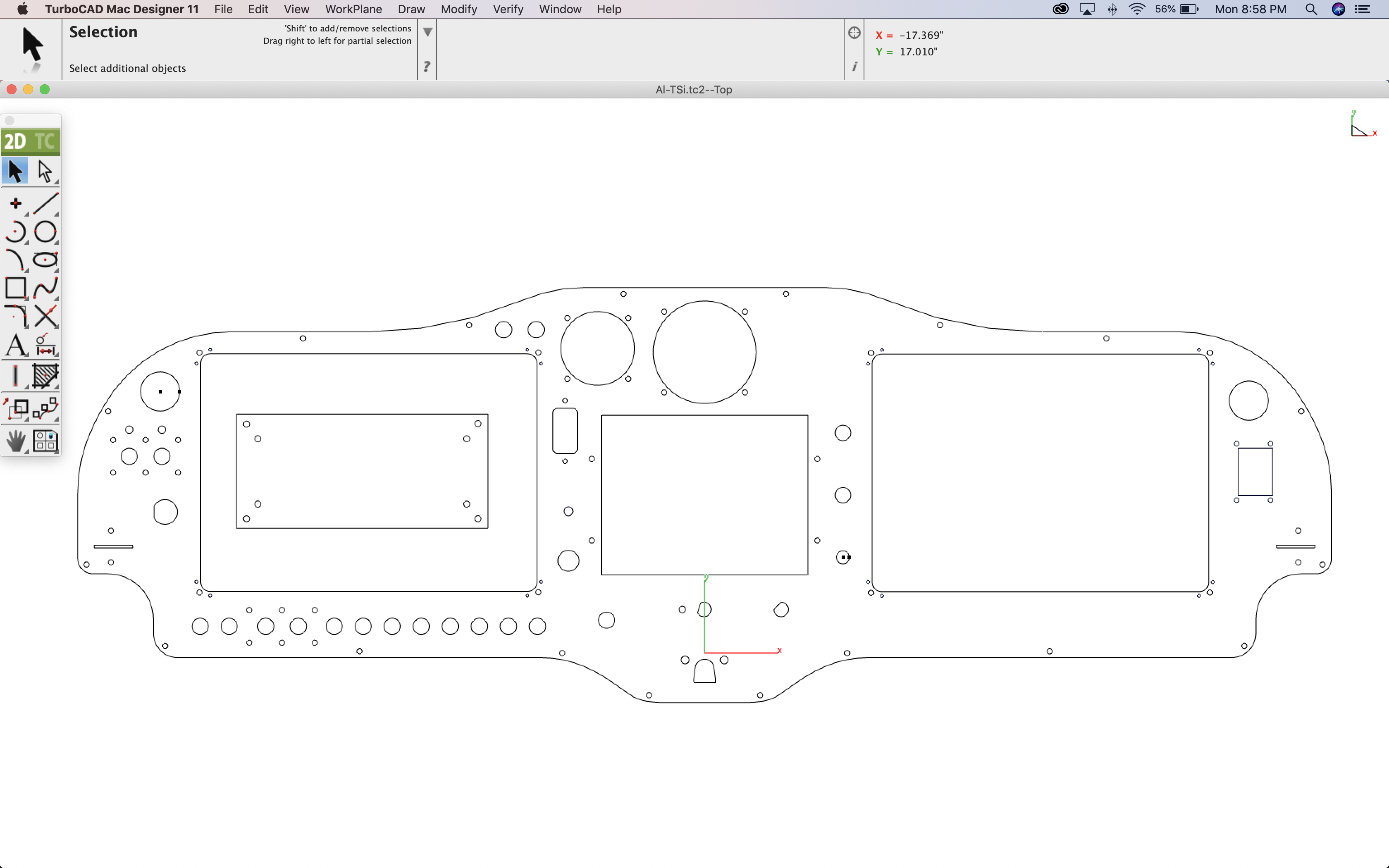Sling Aircraft Panel CAD Design