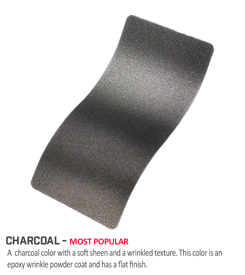 Charcoal-Powder-Coat